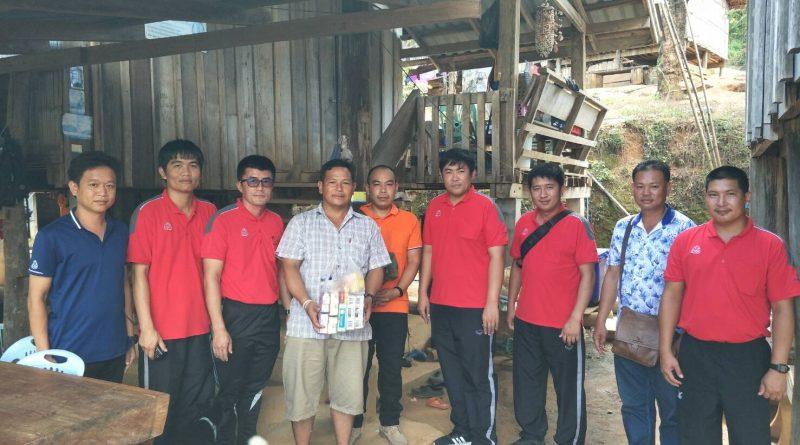 ตัวแทนคณะครูโรงเรียนเวียงผาวิทยา ร่วมเทศกาลกินข้าวใหม่ของชุมชนหมู่บ้านอายิโก๊ะ